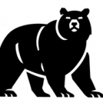 The Russian Bear, traditional symbol for the nation that once was Russia, but which is now little but a nuclear wasteland.