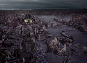Holy London, little more than the flooded, ruined ashes of a once-great city.